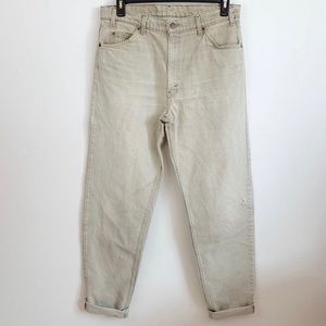 VINTAGE 90's Levi 550 Relaxed Fit Tapered leg W36